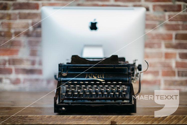 MaerTexxT typemachine computer