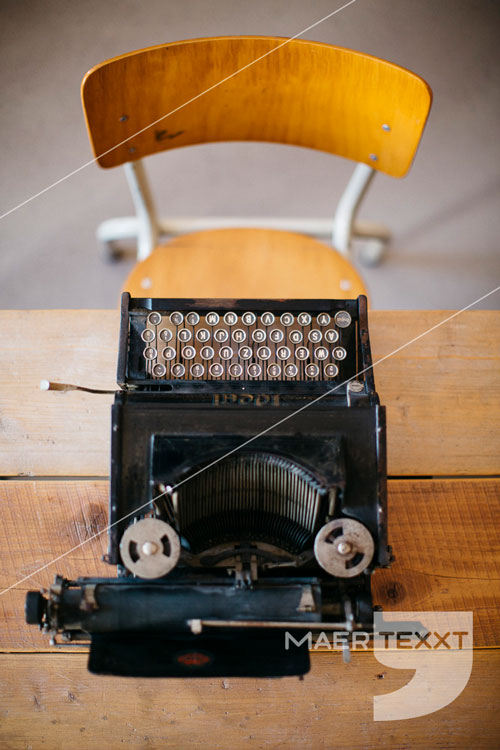 MaerTexxT typemachine